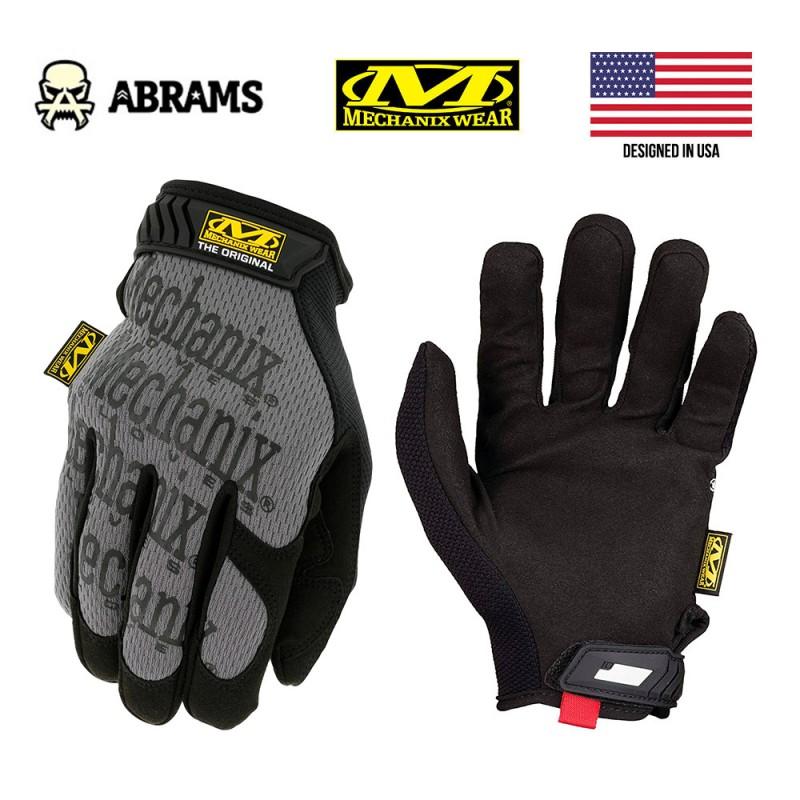 Перчатки тактические Mechanix Original® Grey Black
