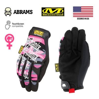 Перчатки тактические женские Mechanix The Original® Womens Pink Camo
