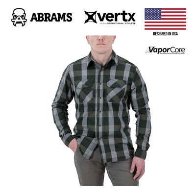 Тактическая рубашка Vertx Guardian 2.0 Long Sleeve Shirt Hunter Green