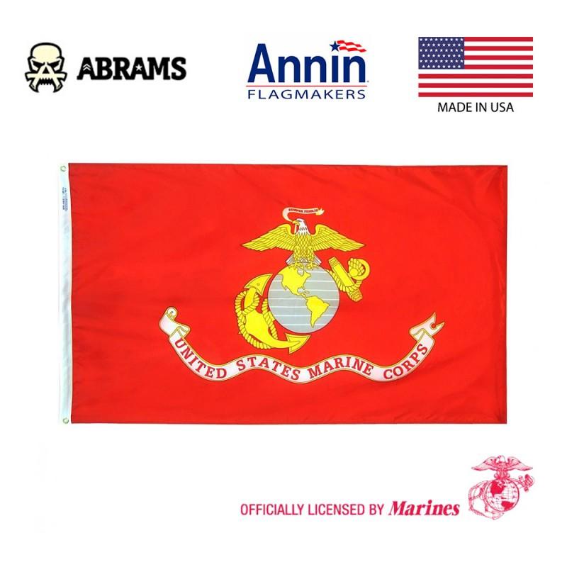 Флаг морской пехоты всепогодный Annin Nyl-Glo U.S. Marine Corps Military Flag 150x90 см