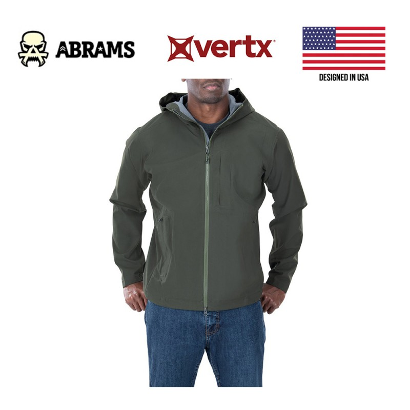 Непромокаемая мембранная куртка Vertx Fury Hardshell 37.5 Jacket Rudder Green