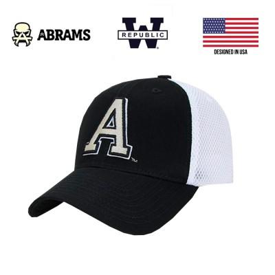 Фирменная кепка Военной академии США (USMA) West Point W Republic Mesh Black White