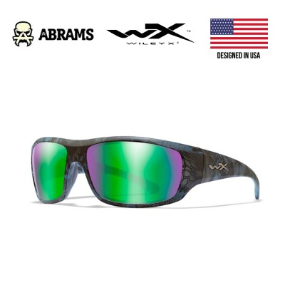 Очки балистические Wiley X OMEGA Polarized Emerald Mirror Kryptek® Neptune™ Frame