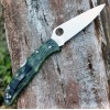 Складной нож Spyderco Endura4 Black FRN Flat Ground Camo