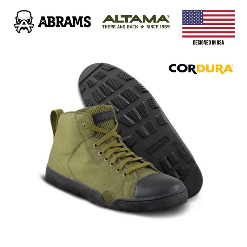 Тактические кроссовки (кеды) Altama Maritime Assault Mid Olive