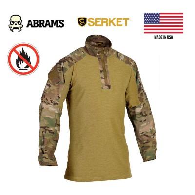 Боевая рубашка Serket Flame Resistant Light-Weight Combat Shirt Multicam
