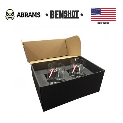 Подарочный набор стаканов с блесной BenShot Gift Set Fishing Lure 325 ml