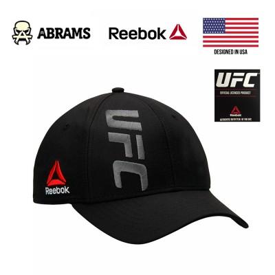 Кепка Reebok UFC Fighter Structured Flex Hat Black Grey SLD