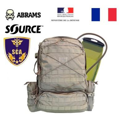 Рюкзак ВС Франции SAC DE COMBAT 45L с гидратором Source + Rain Cover