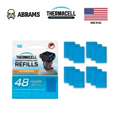 Сменные пластинки Thermacell Backpacker Repellent Mat-Only Refills 48 часов