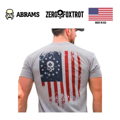 Футболка Zero Foxtrot Zero Nation (Gray)