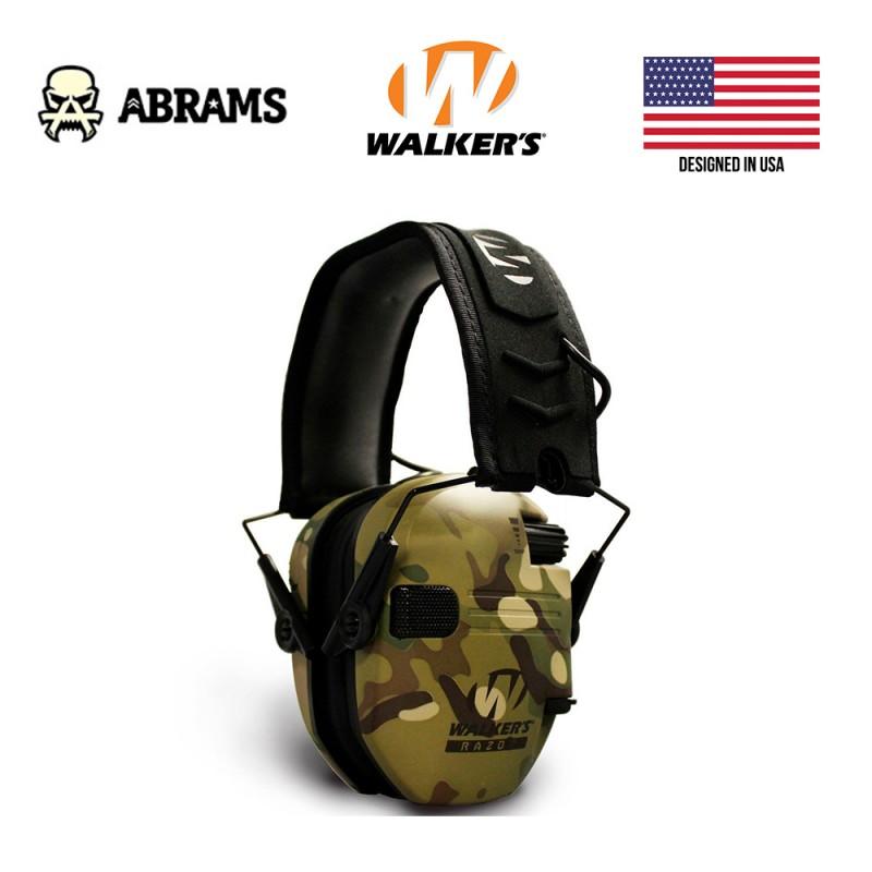 Активные наушники Walkers Razor Slim Patriot Multicam