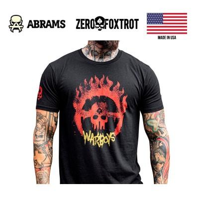 Футболка Zero Foxtrot Warboys Black
