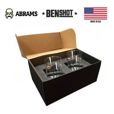 Подарочный набор стаканов с пулей калибр 0.45ACP BenShot Gift Set 325 ml