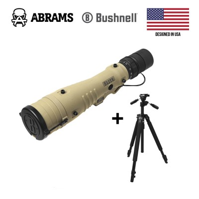 Подзорная труба Bushnell 8-40x60 mm LMSS Tan Horus H32 Reticle + Трипод Б/У