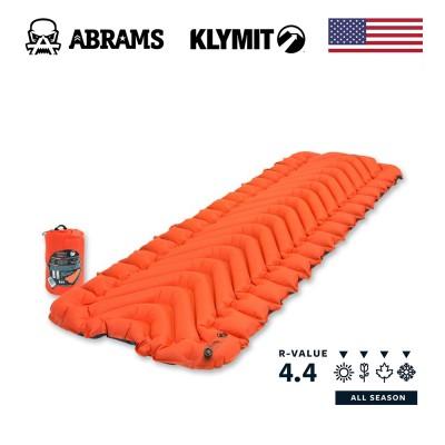 Каремат утеплённый надувной Klymit Insulated Static V Orange