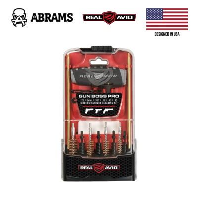 Набор для чистки Real Avid Gun Boss Pro Handgun Cleaning Kit (.22 / 9mm / .357 / .38 / .40 / .45)