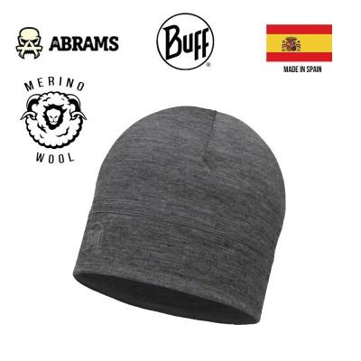Шапка Buff Merino Wool 1 Layer Hat Solid Grey