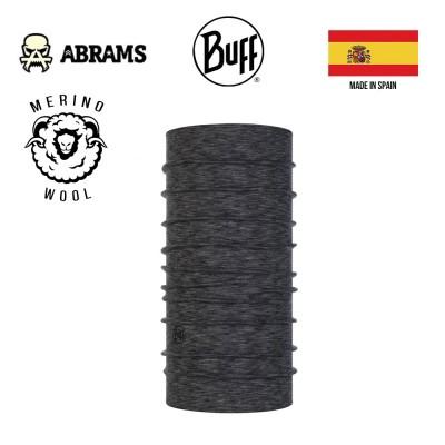 Шарф-труба (бафф) Buff Midweight Merino Wool, MULTI Stripes Graphite