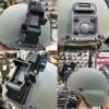 Крепление для ПНВ на каску Norotos NVG RHINO II Helmet Mount Titanium