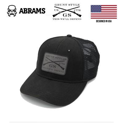 Кепка Grunt Style Twill Logo Hat Black
