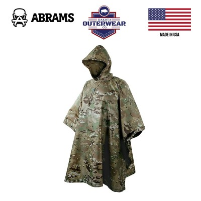Пончо (плащ-накидка) Dakota Outerwear Poncho With Hood Multicam