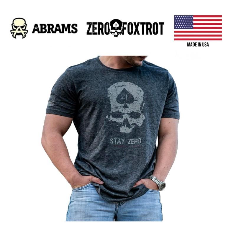 Футболка Zero Foxtrot Code Zero (Grey)