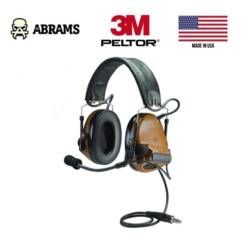Активные наушники 3M / Peltor ComTac III Single Comm Coyote