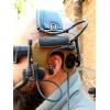 Активные наушники 3M PELTOR COMTAC IV Single Comm Hybrid Communication Headset + кнопка PTT