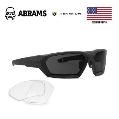Тактические баллистические очки Revision ShadowStrike Military Black (2 линзы)