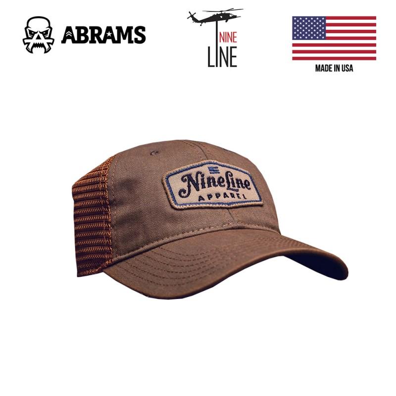 Кепка Nine Line Classic Trucker Hat Blue NLA Patch - Grey Copper