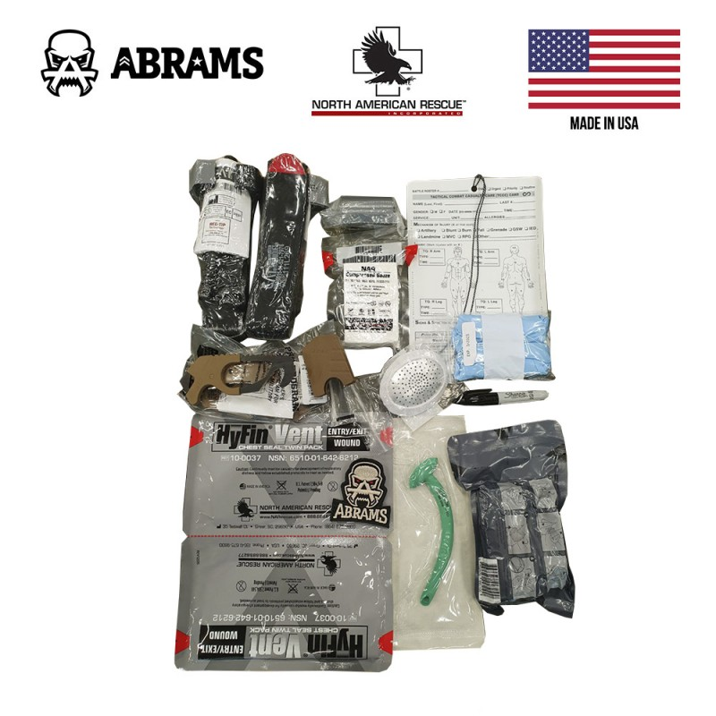 Набор комплектующих для аптечки IFAK 2 NAR SIRK (стандарт IFAK II NATO)