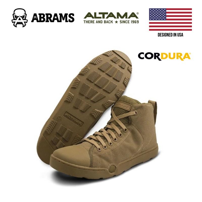Тактические кроссовки (кеды) Altama Maritime Assault Mid Coyote