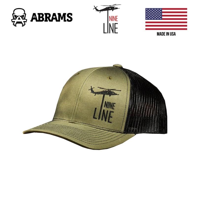 Кепка Nine Line Dropline Hat by Richardson OD Green