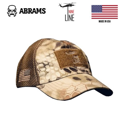 Кепка Nine Line Kryptek American Made Mesh Back Hat with Drop Line Highlander
