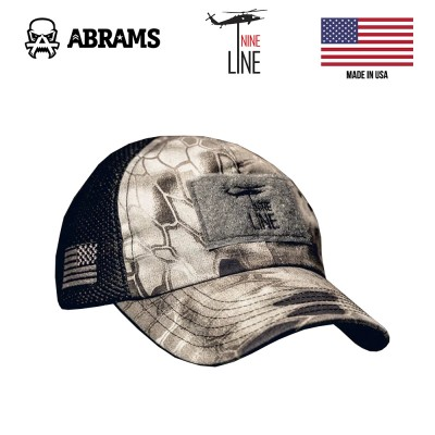 Кепка Nine Line Kryptek American Made Mesh Back Hat with Drop Line Raid