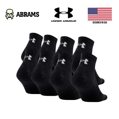 Носки Under Armour Charged Cotton® 2.0 No Show – 8Pack (8 пар)