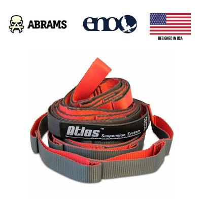 Подвесная система стропы ENO Atlas Red Charcoal Suspension System 180 кг