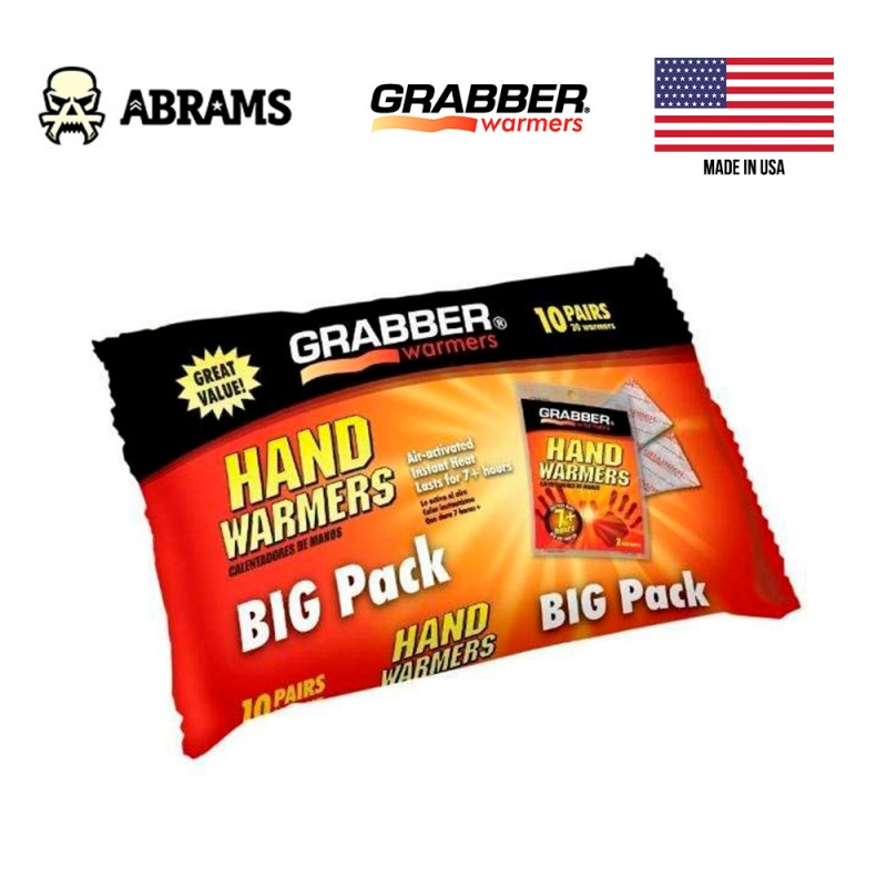 Грелка для рук Grabber Hand Warmer Big Pack (10 пар)