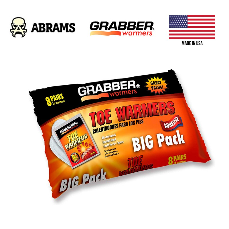 Грелка для ног Grabber Toe Warmers Big Pack (8 пар)