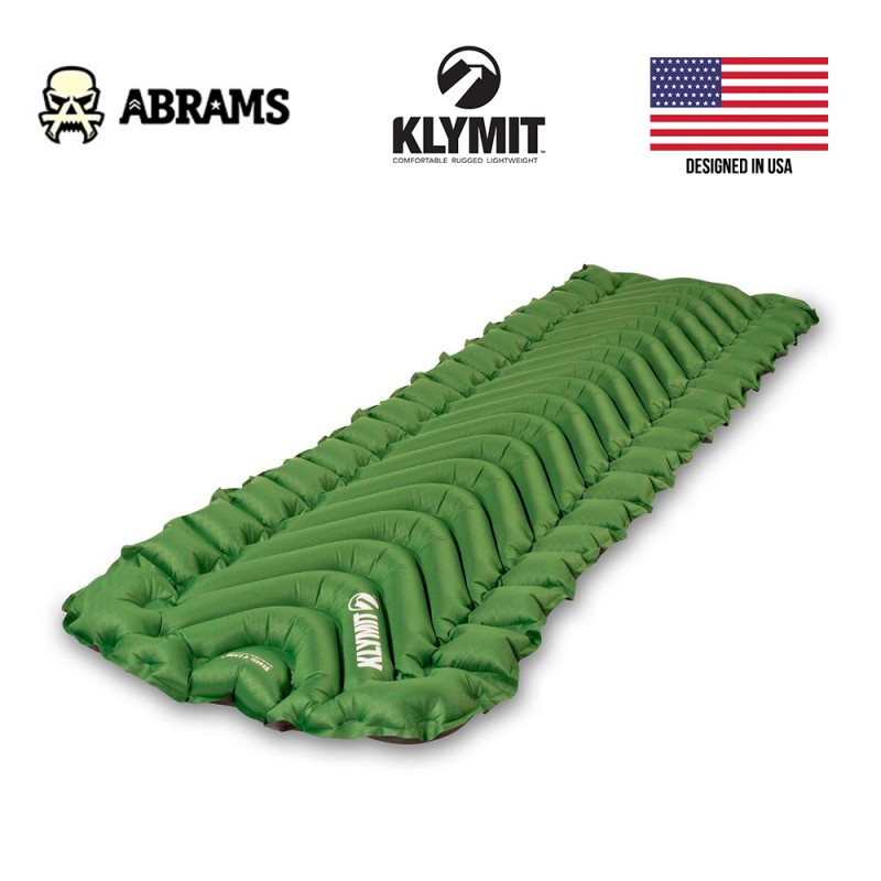 Каремат надувной Klymit Static V Long Sleeping Pad - Green