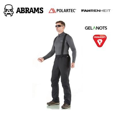Штаны утепленные Fahrenheit Gelanots Primaloft Black