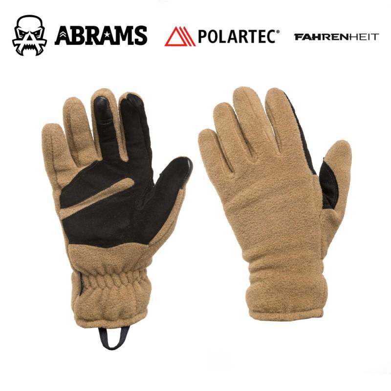 Перчатки флисовые Fahrenheit Polartec Classic 200 Tactical Coyote
