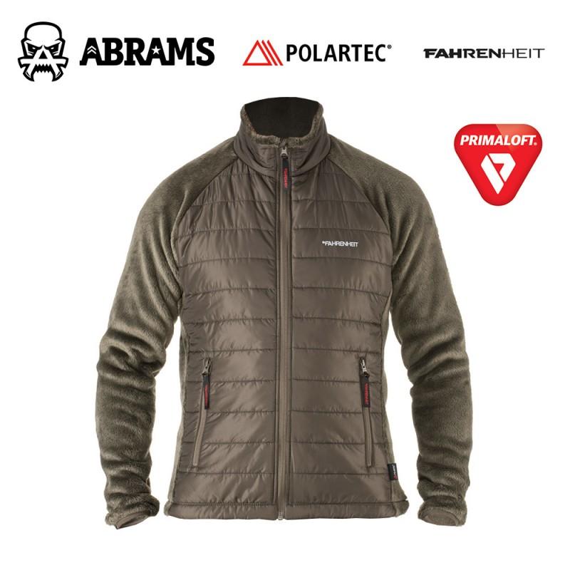 Куртка флис Fahrenheit High Loft Polartec + PrimaLoft. Ver 2