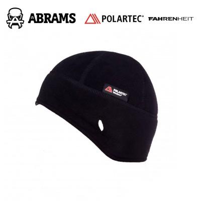 Шапка непродуваемая флисовая с ушами Fahrenheit Polartec Windbloc Black
