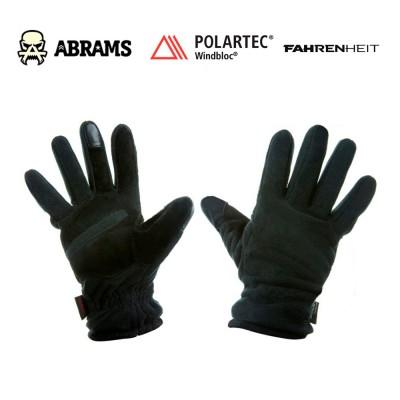 Перчатки флисовые непродуваемые Fahrenheit Polartec Windblock Tactical Black