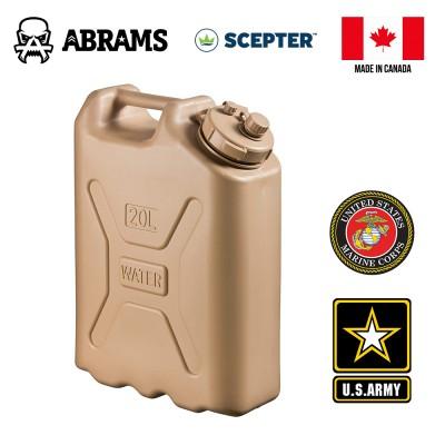 Канистра для воды 20L Tan военная USA