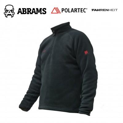 Реглан флис Fahrenheit Polartec Classic 200 Zip - Black