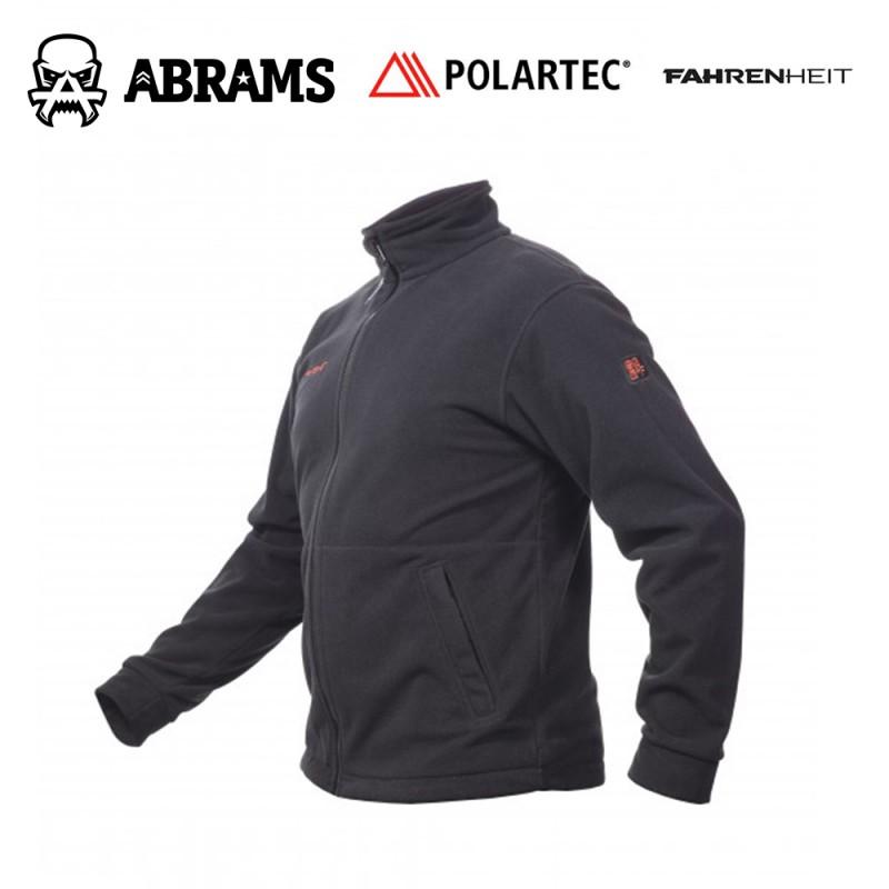 Куртка флис непродуваемая Fahrenheit Polartec Windbloc Black