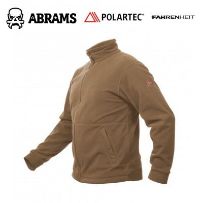 Куртка флис непродуваемая Fahrenheit Polartec Windbloc Coyote